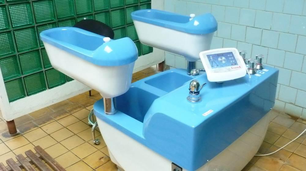 Timișoara: Tratamente cu apă geotermală la clinica de balneologie din cadrul Spitalului municipal