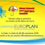 Alianța Națională pentru Boli Rare organizează conferința Europlan 2019