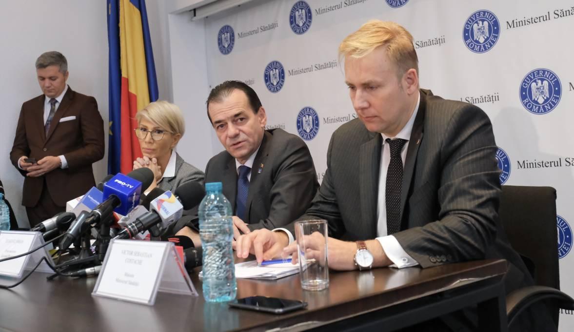 Premierul anunță toleranță zero față de șpaga din spitale și vrea să demită conducerea CNAS
