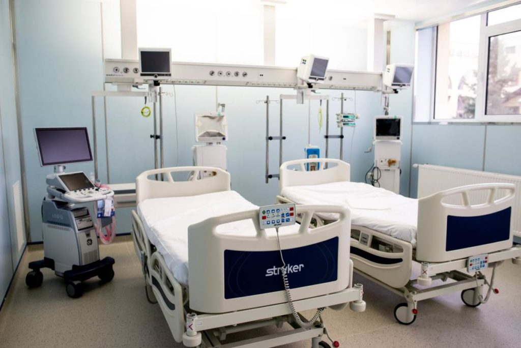 """Secție ATI - Spitalul Clinic de Urgență """"Prof. Dr. Nicolae Oblu"""" Iași"""