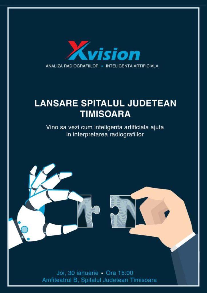 Invitatie eveniment lansare XVision