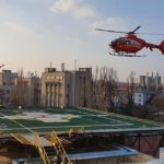Pacient în șoc cardiogen, transportat cu elicopterul SMURD la SUUB București
