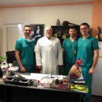IBCV Timișoara: Primul implant de stent Graft din acest an, la un pacient cu anevrism de aorta abdominală infrarenal