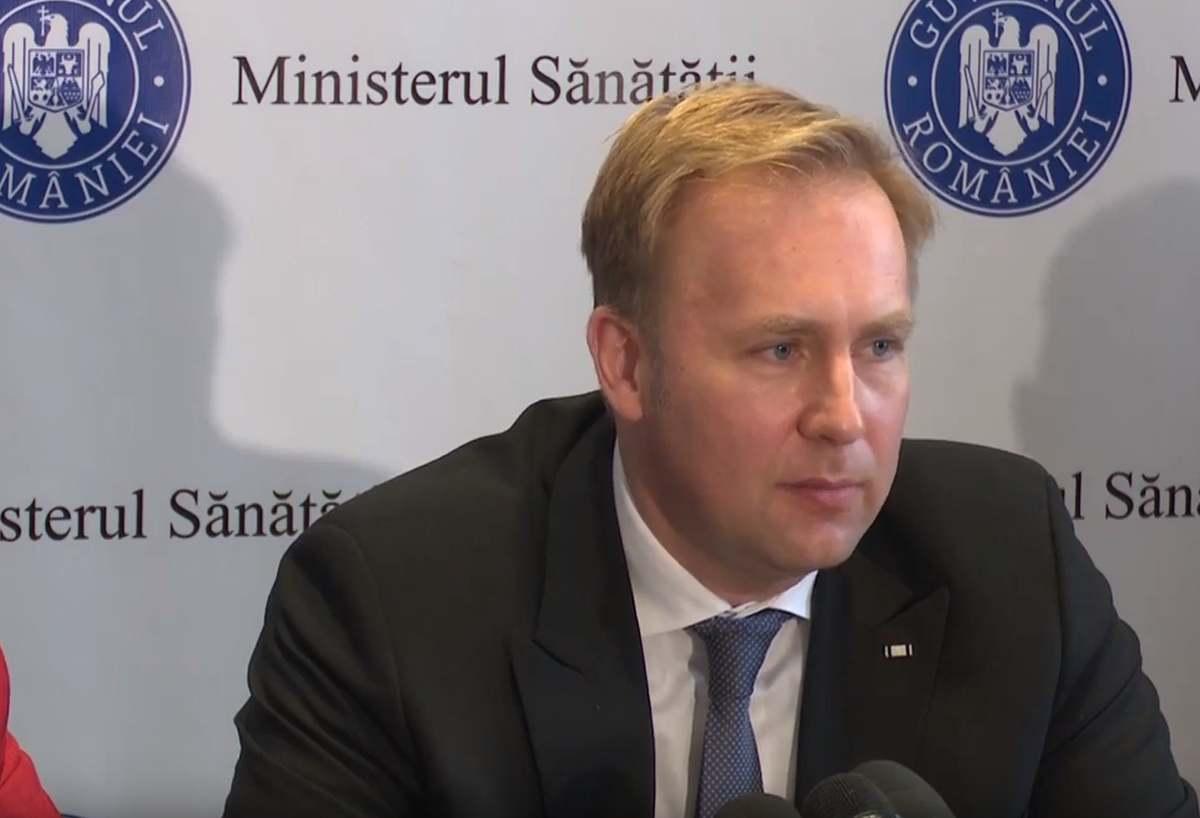 Victor Costache a demisionat din funcția de ministru al sănătății