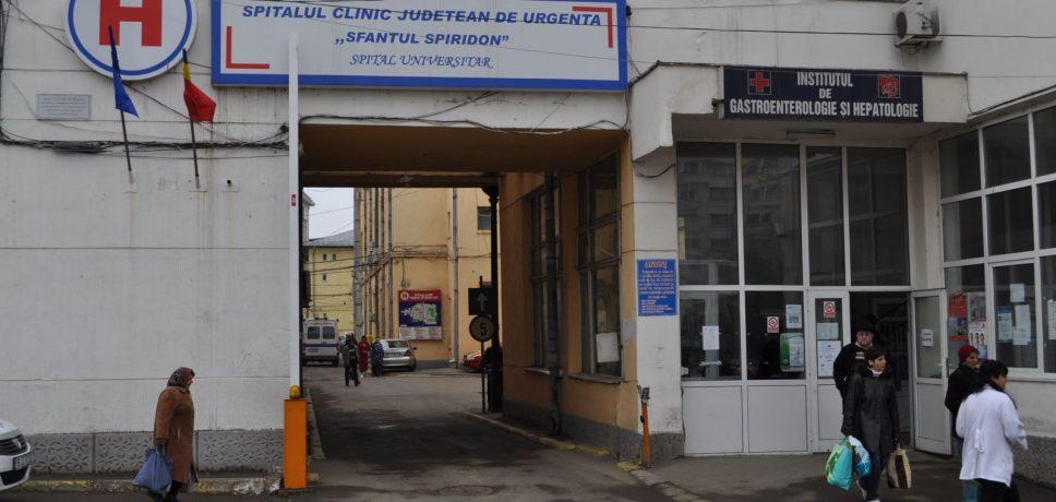 Iași: Aflux de pacienți la Spitalul Județean de Urgență Sfântul Spiridon