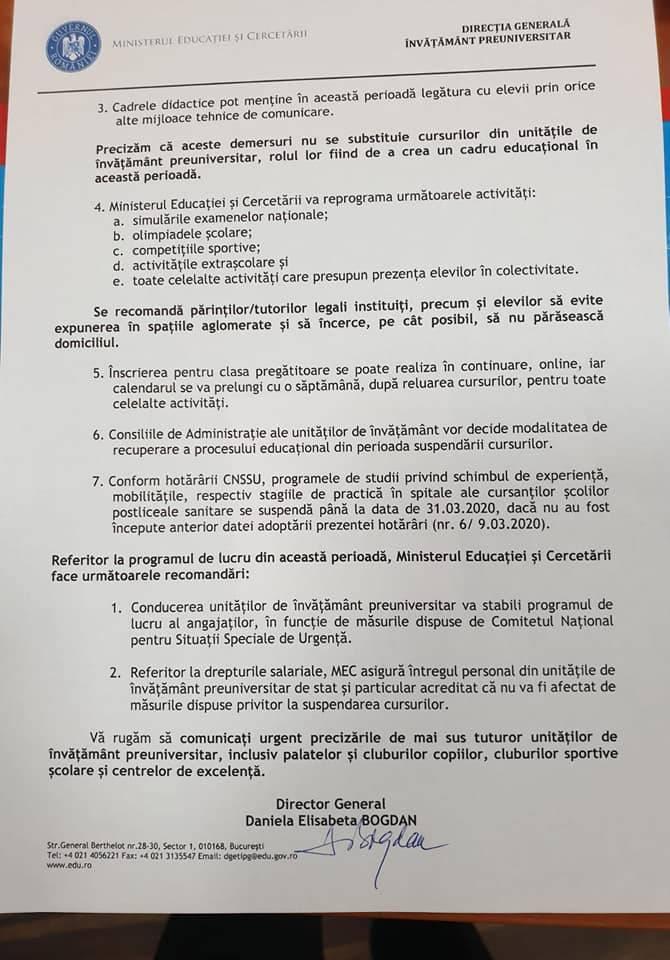 propunere-educatie-suspendarea-cursurilor-coronavirus-romania-2